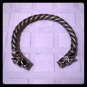 Viking bracelet cuff